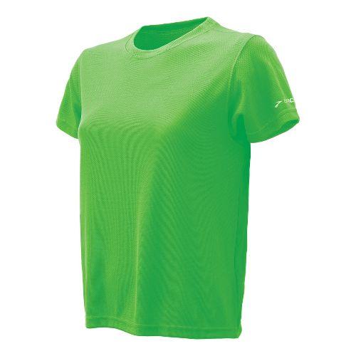 Womens Brooks Podium Short Sleeve Technical Tops - Bali Green L