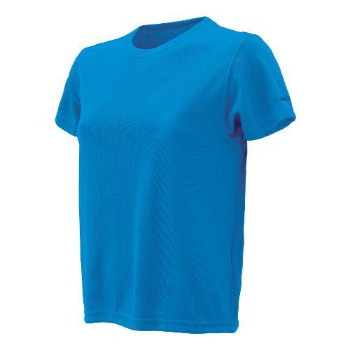 Womens Brooks Podium Short Sleeve Technical Tops - Brooks Blue XL