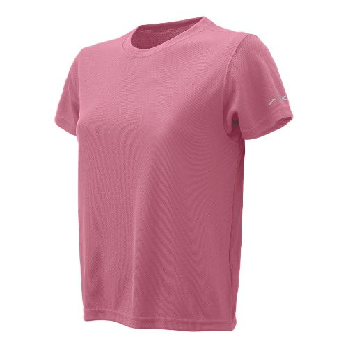 Womens Brooks Podium Short Sleeve Technical Tops - Pink L
