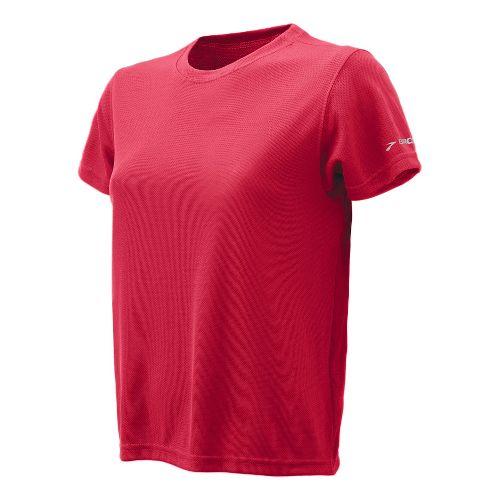 Womens Brooks Podium Short Sleeve Technical Tops - Red L