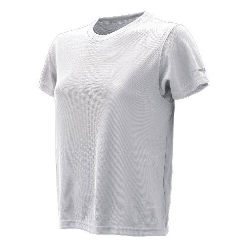 Womens Brooks Podium Short Sleeve Technical Tops - White L