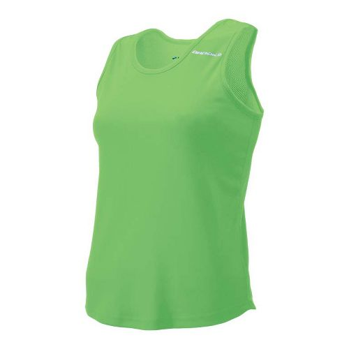 Womens Brooks Distance Singlets Technical Top - Brite Green XL