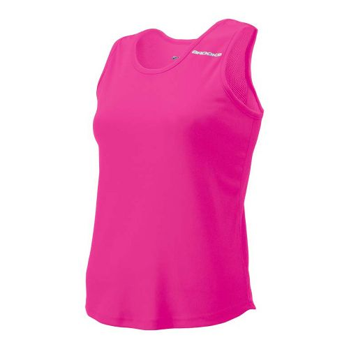 Womens Brooks Distance Singlets Technical Top - Brite Pink S