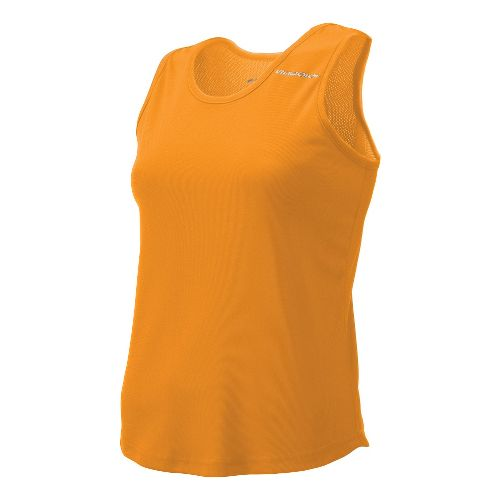 Womens Brooks Distance Singlets Technical Top - Orange S