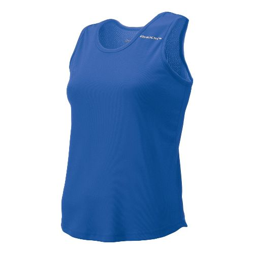 Womens Brooks Distance Singlets Technical Top - Royal M
