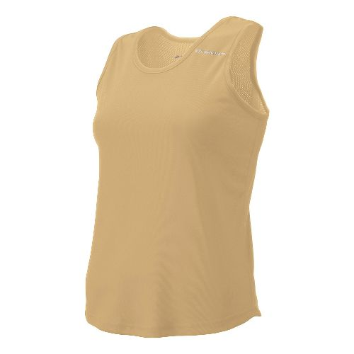 Womens Brooks Distance Singlets Technical Top - Vegas Gold XL