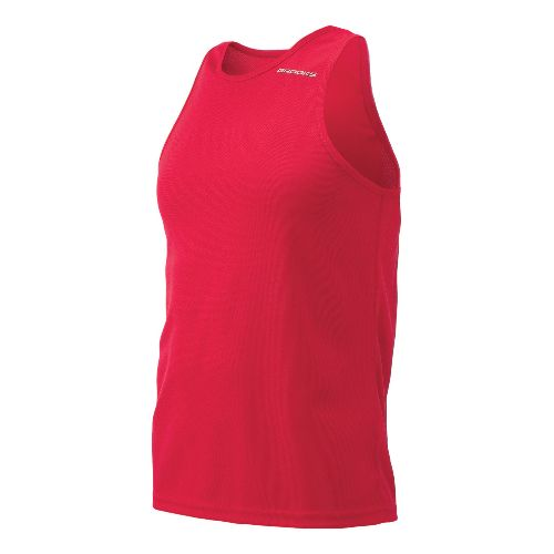 Mens Brooks Distance Singlets Technical Top - Red XXL