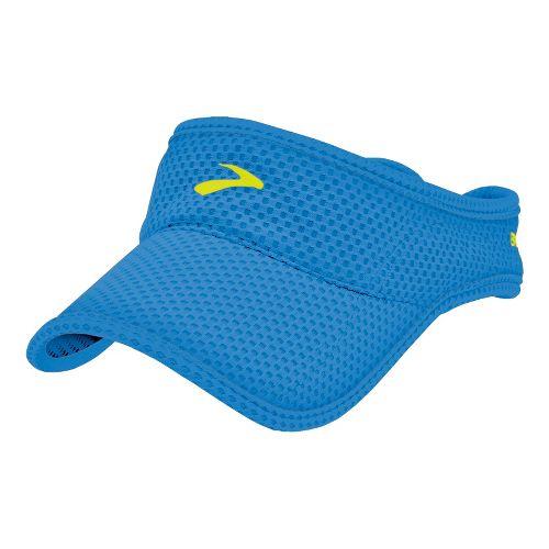 Mens Brooks Sunshield Visor Headwear - Neptune