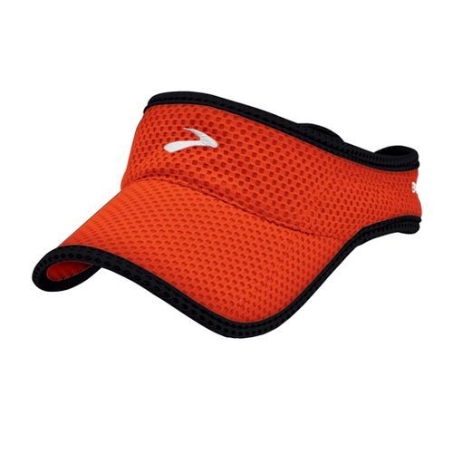 Mens Brooks Sunshield Visor Headwear - Torch