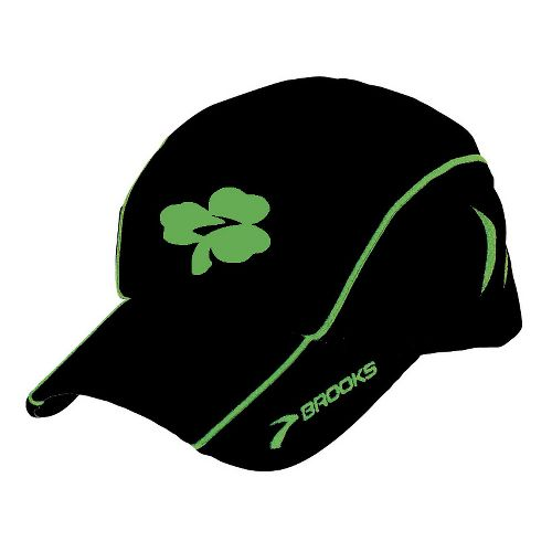 Brooks Shamrock Mesh Cap Headwear - Black