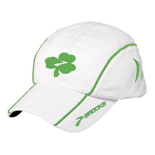 Brooks Shamrock Mesh Cap Headwear - White
