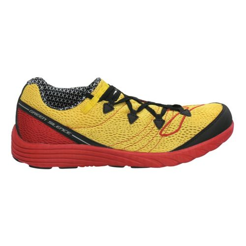 Brooks Green Silence Racing Shoe - Black/Maize 14