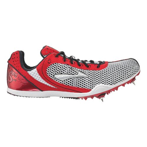 Brooks The Wire Track and Field Shoe - Slam/Silver 6