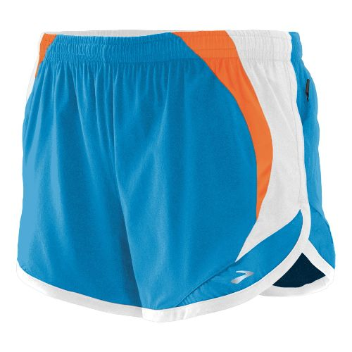 Womens Brooks Infinity II Lined Shorts - Mediterranean S