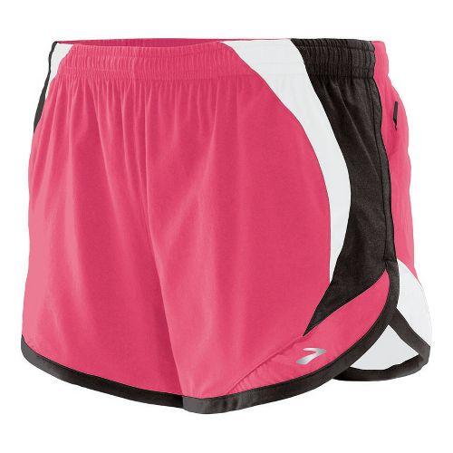 Womens Brooks Infinity II Lined Shorts - Rouge XS