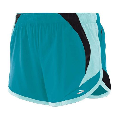 Womens Brooks Infinity II Lined Shorts - Tourmaline/Tropic S