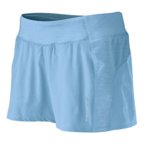 Womens Brooks Glycerin Short Lined Shorts - Powder M
