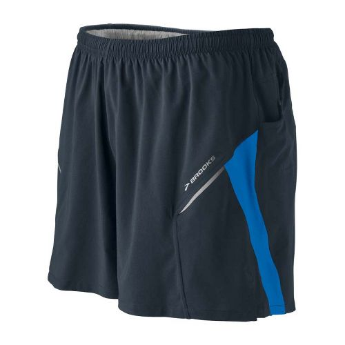 Mens Brooks Sherpa III Lined Shorts - Anthracite/Skydiver S