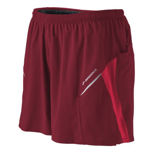 Mens Brooks Sherpa III Lined Shorts - Matador/Plasma S