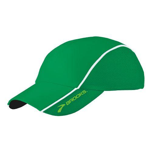 Brooks HVAC Infiniti Mesh Hat Headwear - Envy/White