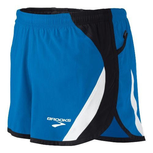 Mens Brooks ID Elite Splits Shorts - Brooks Blue L