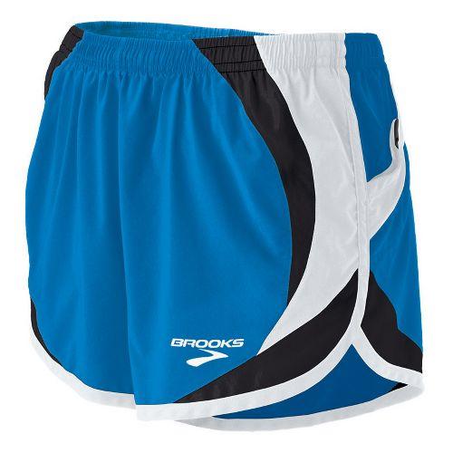 Womens Brooks ID Elite Splits Shorts - Brooks Blue XL