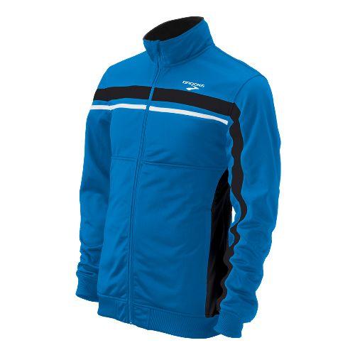 Mens Brooks ID Elite Running Jackets - Brooks Blue M