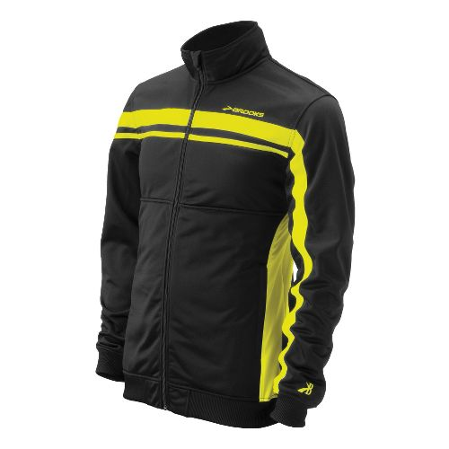 Mens Brooks ID Elite Running Jackets - Nightlife XL