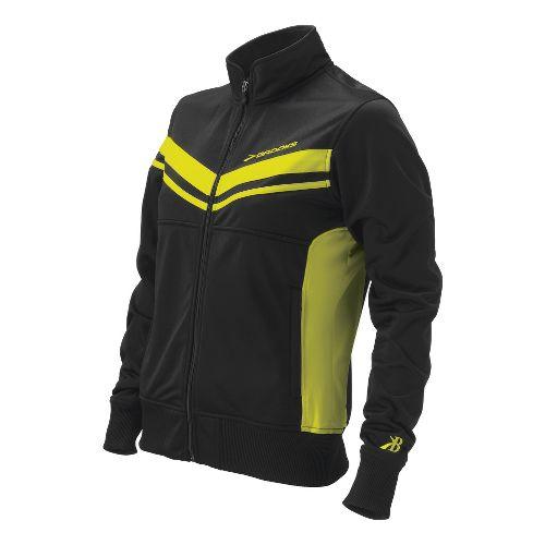 Womens Brooks ID Elite Running Jackets - Nightlife XL