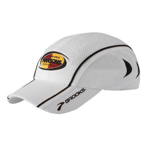 Brooks Hansons-Brooks ODP Hat Headwear - White/Black