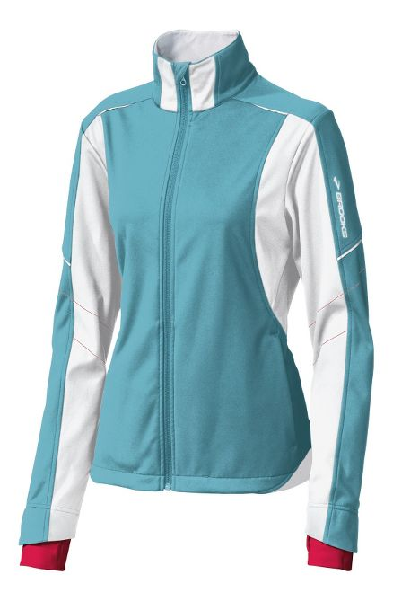 Womens Brooks Utopia Softshell Outerwear Jackets