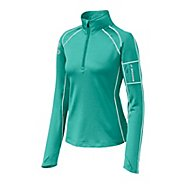 Womens Brooks Infiniti 1/2 Zip Long Sleeve Technical Tops