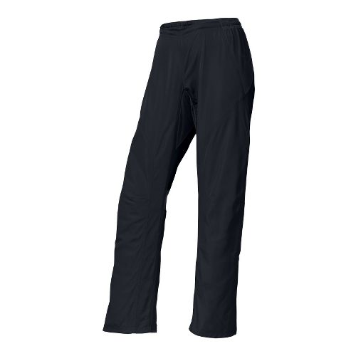 Womens Brooks Essential Run Wind Cold weather Pants - Black XS
