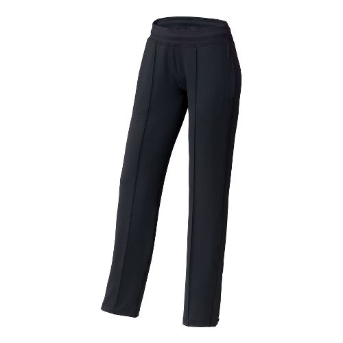 Womens Brooks Spartan II Full Length Pants - Black XS