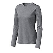 Womens Brooks EZ T Long Sleeve No Zip Technical Tops