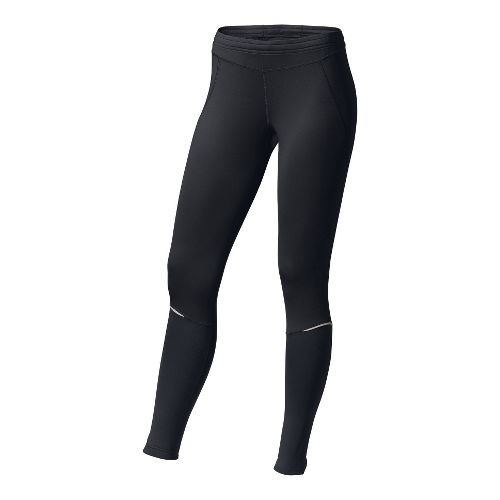 Womens Brooks Utopia Thermal Fitted Tights - Black XS