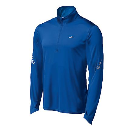 Mens Brooks HVAC Synergy Long Sleeve 1/2 Zip Technical Tops