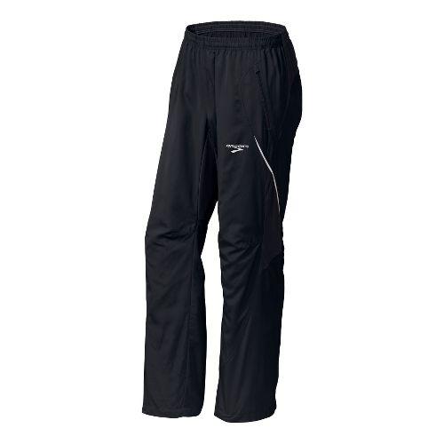 Mens Brooks Essential Run Wind Cold weather Pants - Black L