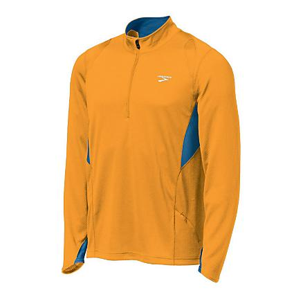 Mens Brooks Podium 1/2 Zip II Long Sleeve Technical Tops