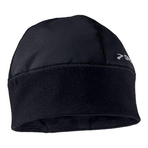 Mens Brooks Infiniti Beanie Headwear - Black