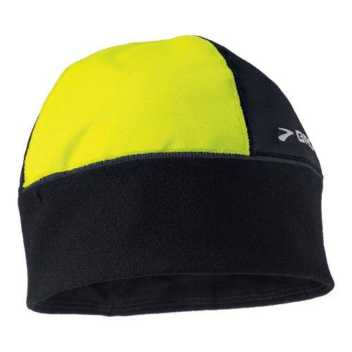Mens Brooks Infiniti Beanie Headwear - Black/Nightlife