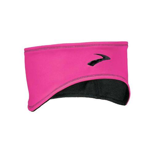 Brooks Infiniti Headband Headwear - Brite Pink/Black