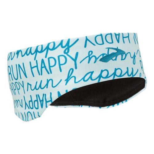 Brooks Infiniti Headband Headwear - Breeze Run Happy
