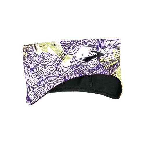 Brooks Infiniti Headband Headwear - Citron Print