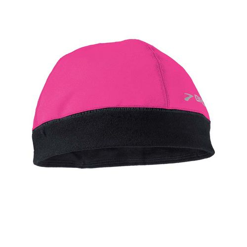 Womens Brooks Infiniti Beanie Headwear - Brite Pink/Black
