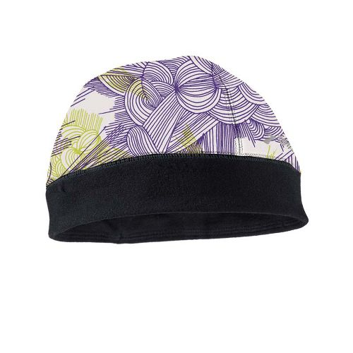 Womens Brooks Infiniti Beanie Headwear - Citron Print