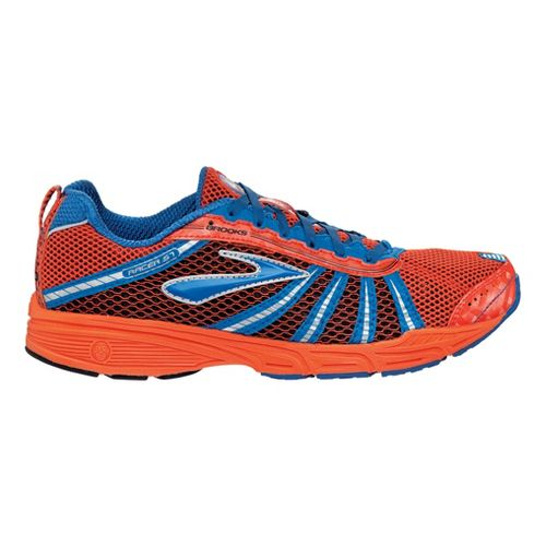 Brooks Racer ST 5 Racing Shoe - Blaze/Blue Navy 8