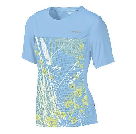 Womens Brooks HVAC Synergy Short Sleeve Technical Tops