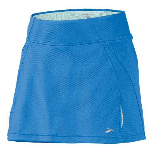 Womens Brooks PR Mesh II Skort Fitness Skirts - Neptune XS