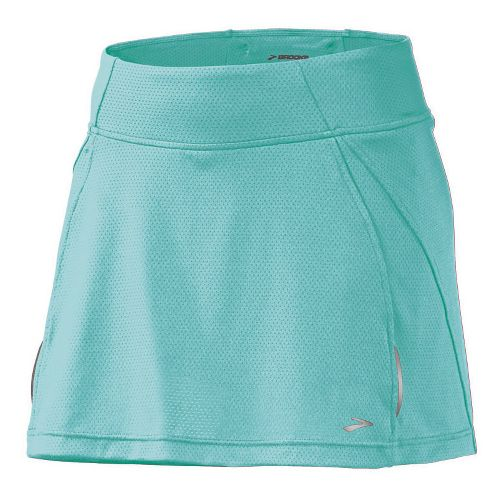 Womens Brooks PR Mesh II Skort Fitness Skirts - Tropic L